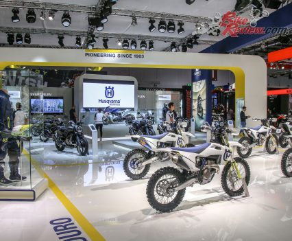 Husqvarna at EICMA 2018 with their 2019 model reveals