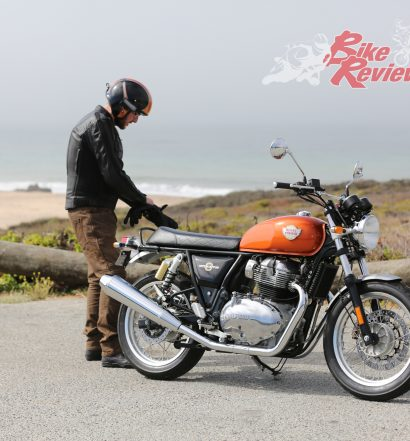 Jeff Ware Santa Cruz Royal Enfield Interceptor