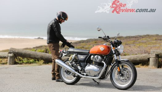 Video Update: Exhaust mod, Jeff's Royal Enfield Interceptor INT 650