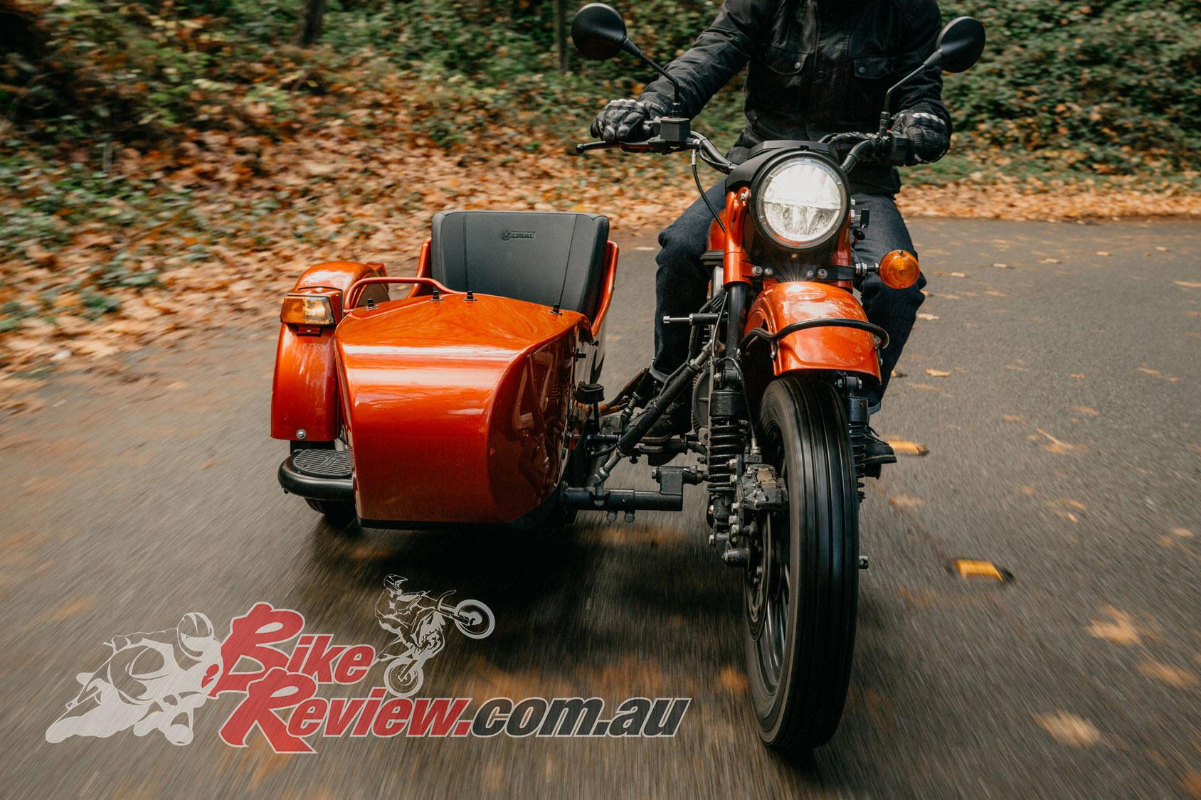 electric ural sidecar prototype bike review. Black Bedroom Furniture Sets. Home Design Ideas