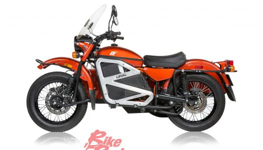 New Model: Electric Ural Sidecar Prototype