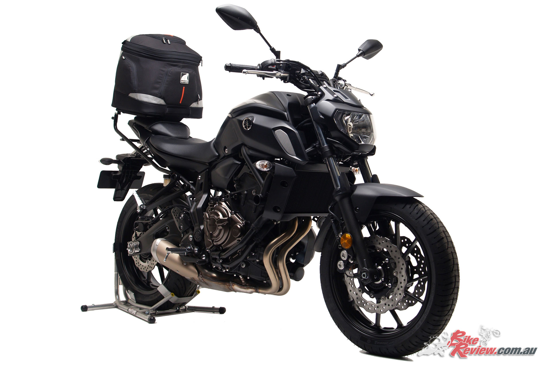Yamaha's 2018 MT-07 with the EVO-40 larger capacity solution