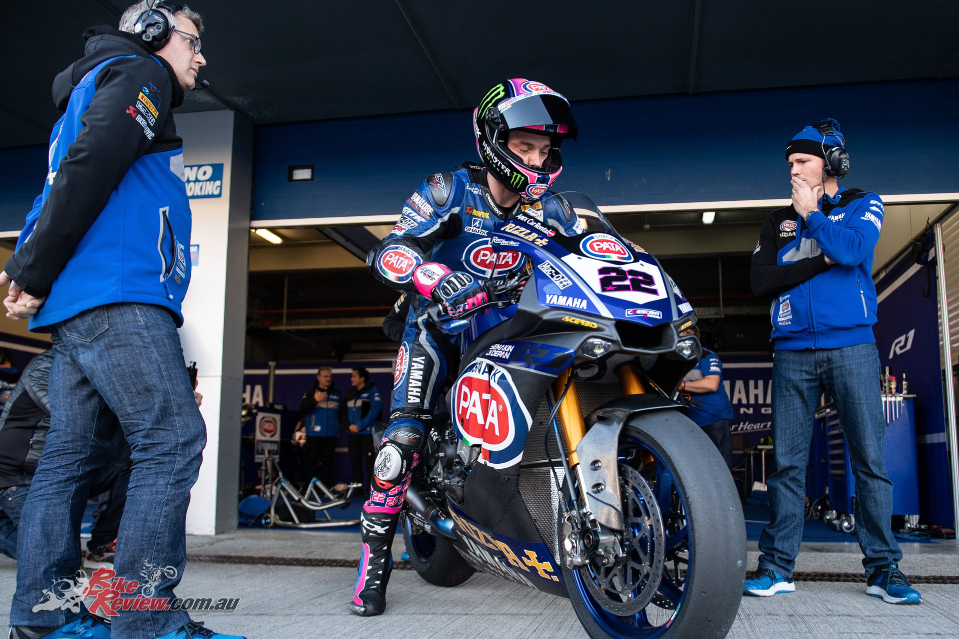 Alex Lowes at the Jerez Test