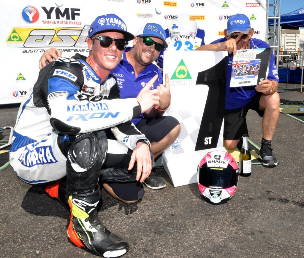 Halliday moved to superbikes in 2019 after he won the 2018 Australian Supersport Championship.