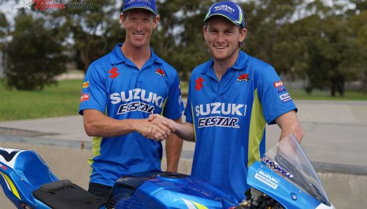 Maxwell & Phillis to Suzuki Ecstar in ASBK 2019