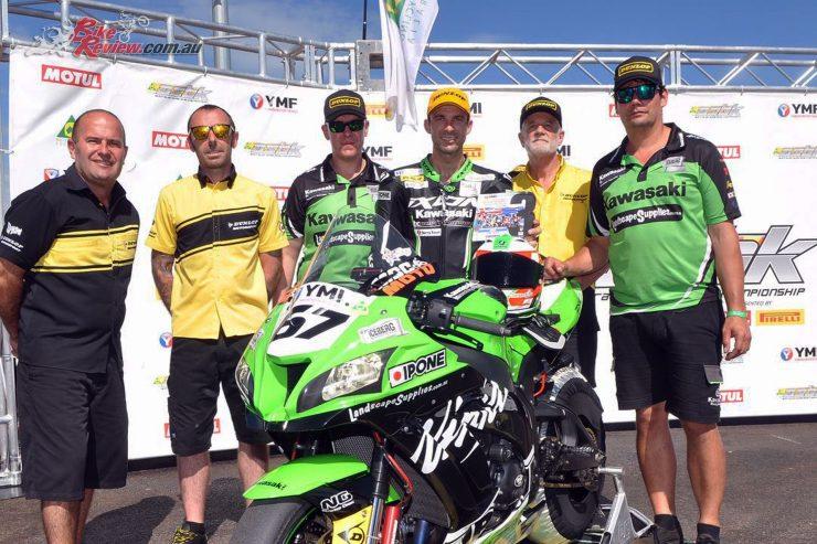 The Kawasaki BCPerformance Team return in 2019 to ASBK