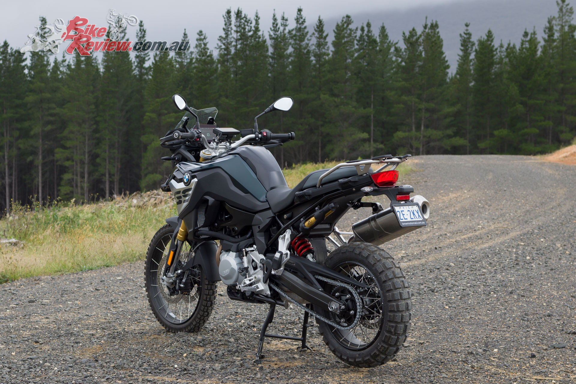 Dual-sport geometry makes some small compromises to handling at the extremes