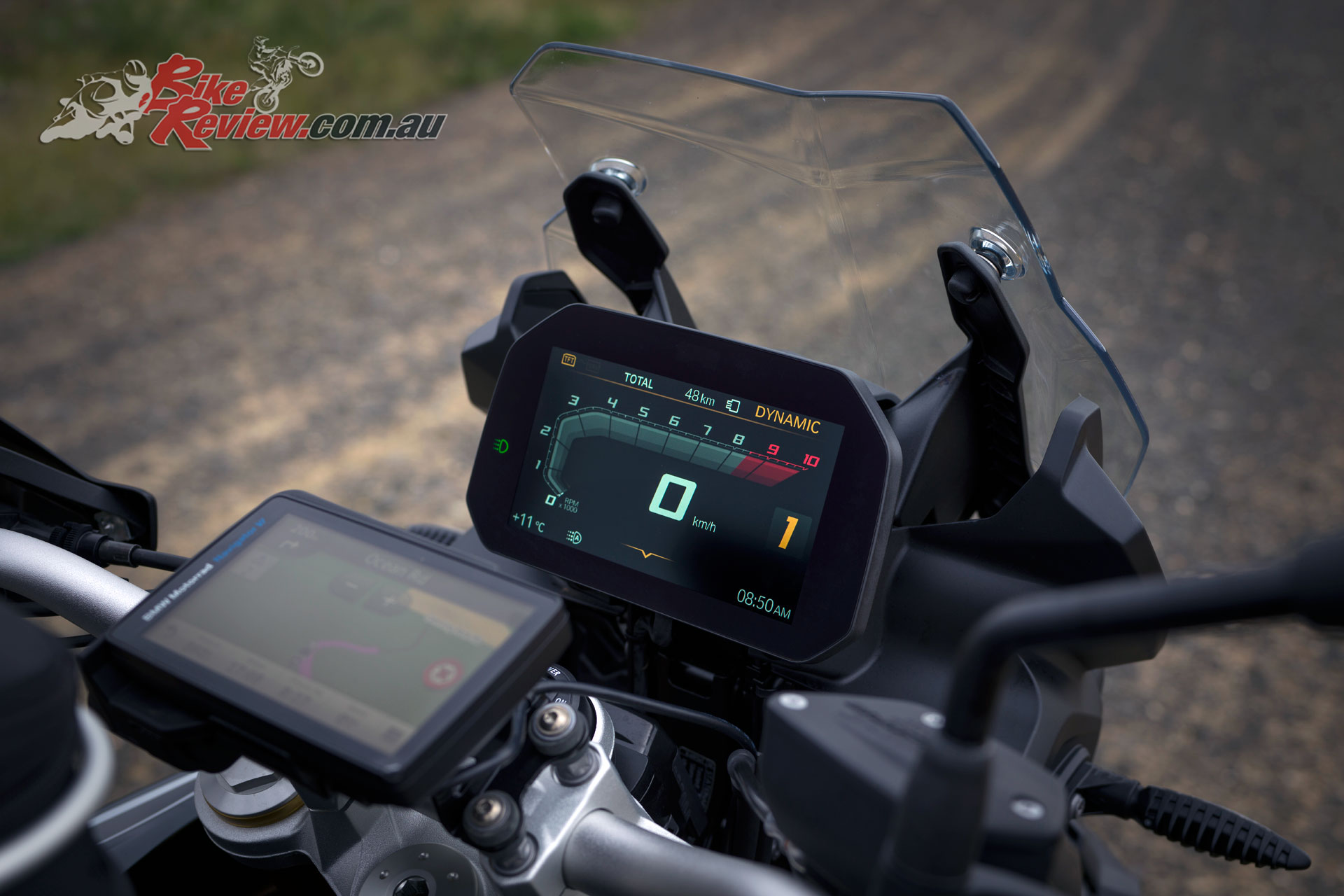 The 2019 BMW F 850 GS also offers smartphone connectivity with the free companion app