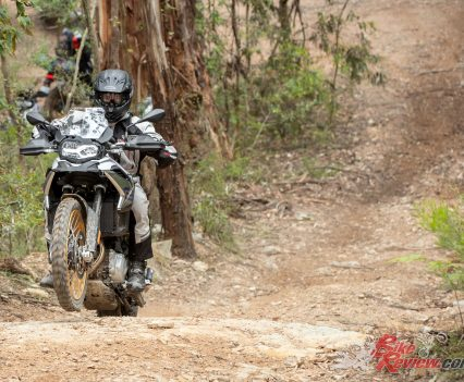 2019 BMW F 850 GS - Testing included a huge variety of different conditions and some really challenging sections