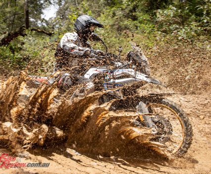 The 2019 F 850 GS offers an agile and light feeling package