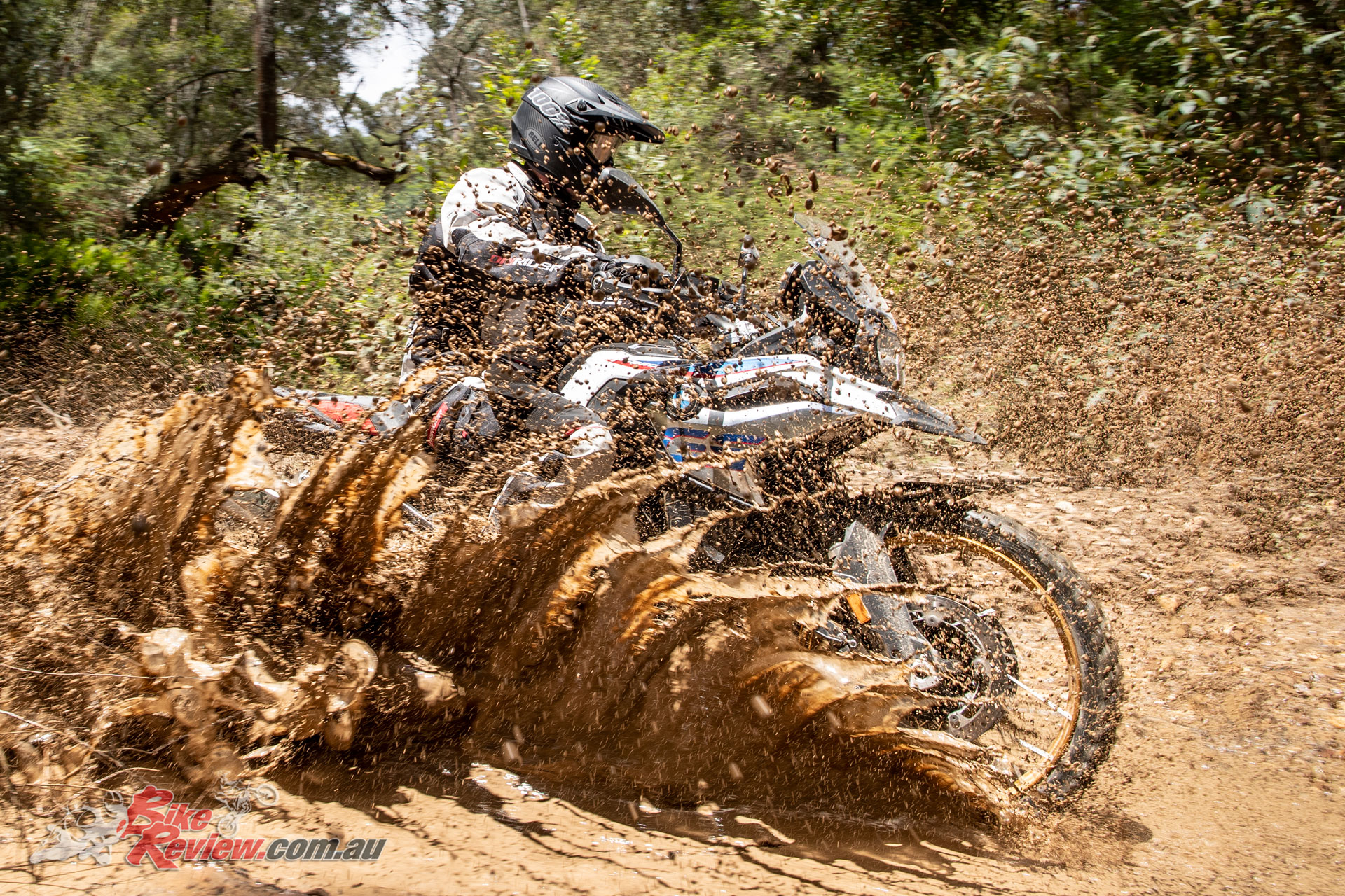 The 2019 F 850 GS is a hardcore adventure bike that will get you more places than the bigger GS range.