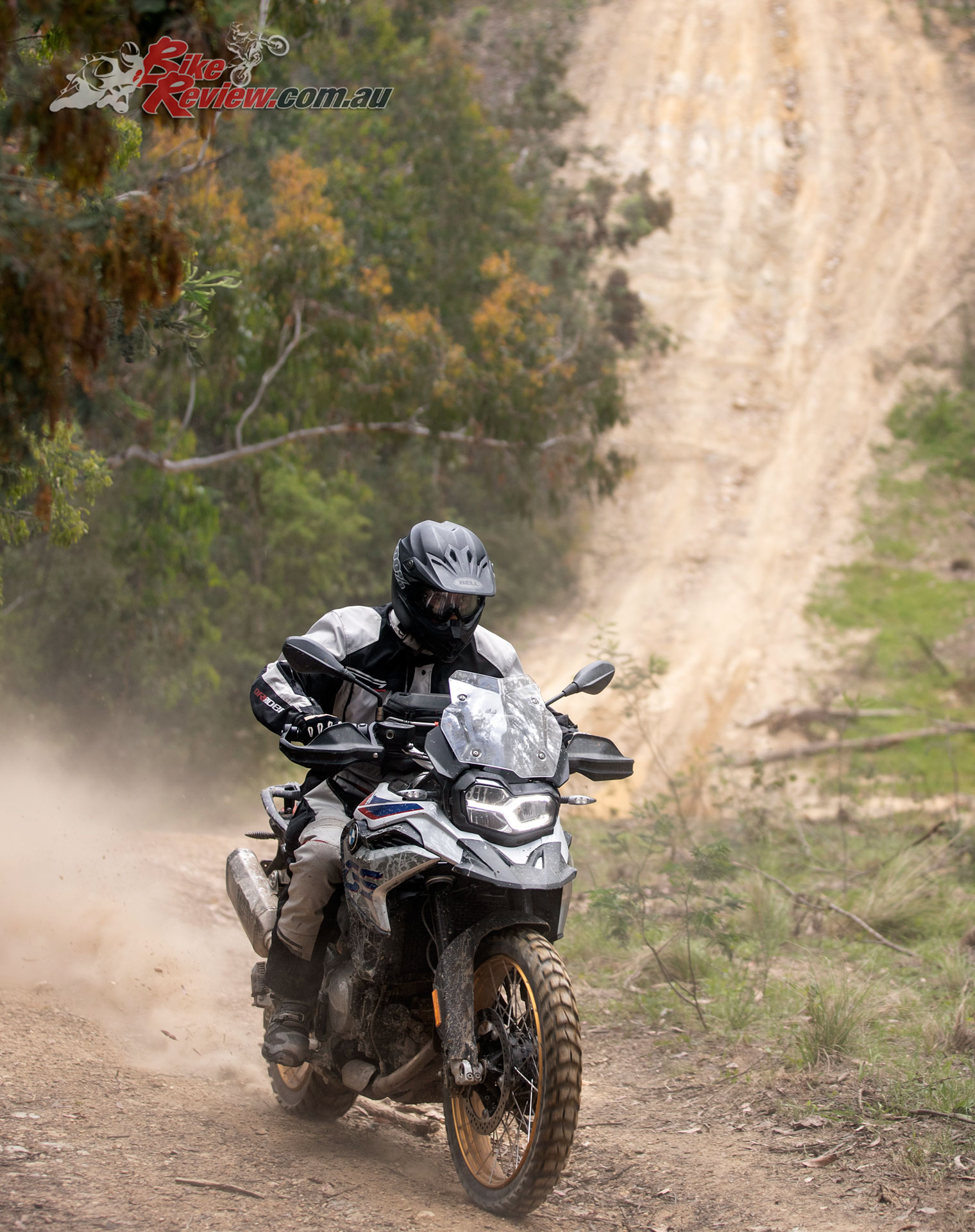The F 850 GS's off-road ability is high and expert riders will appreciate the chassis and electronics.