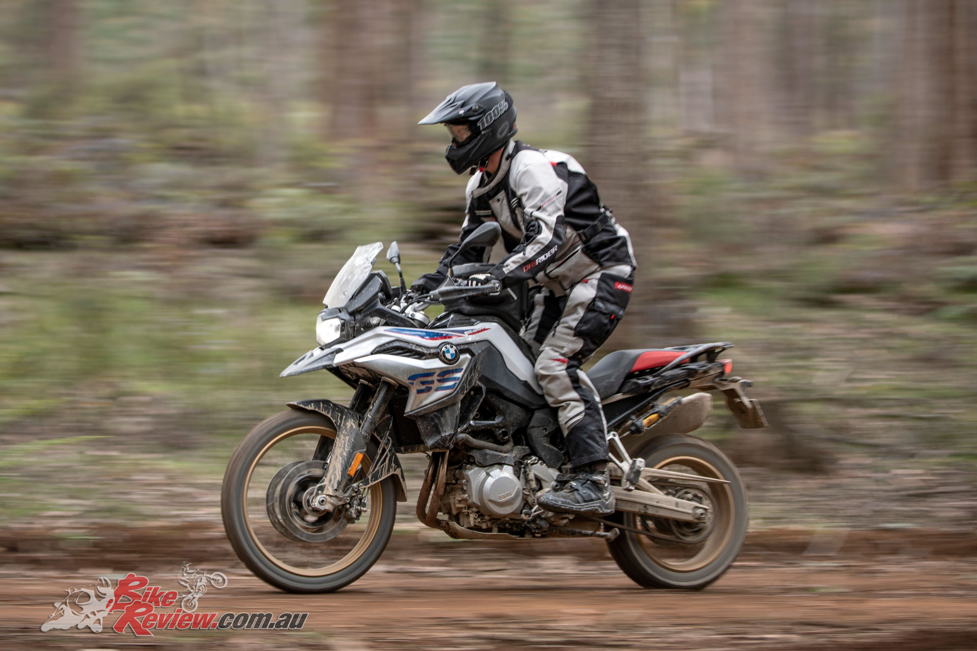 The F 850 GS produces 95hp, while boasting DCT and ASC
