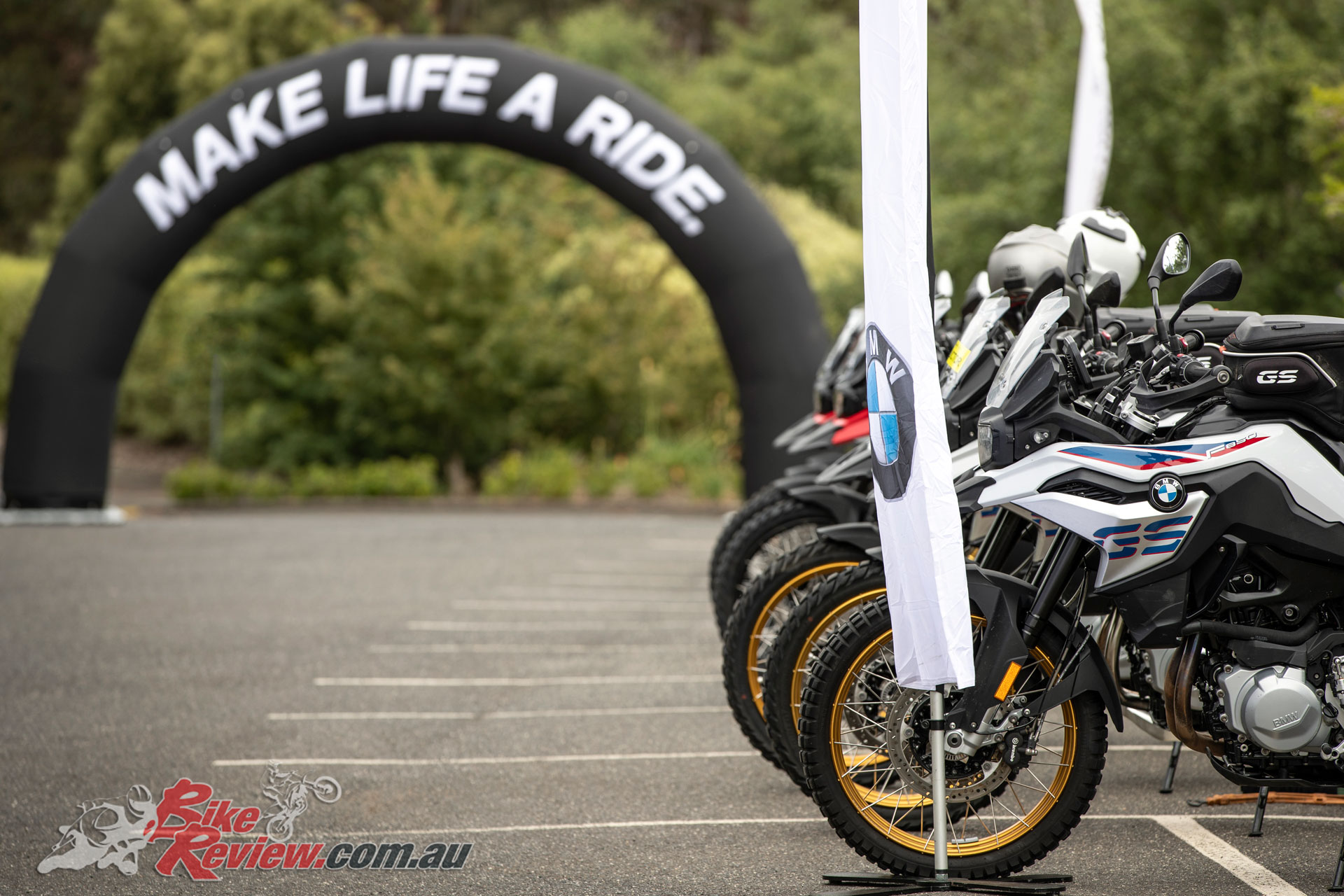 The Australian launch saw the F 850 GS and F 750 GS