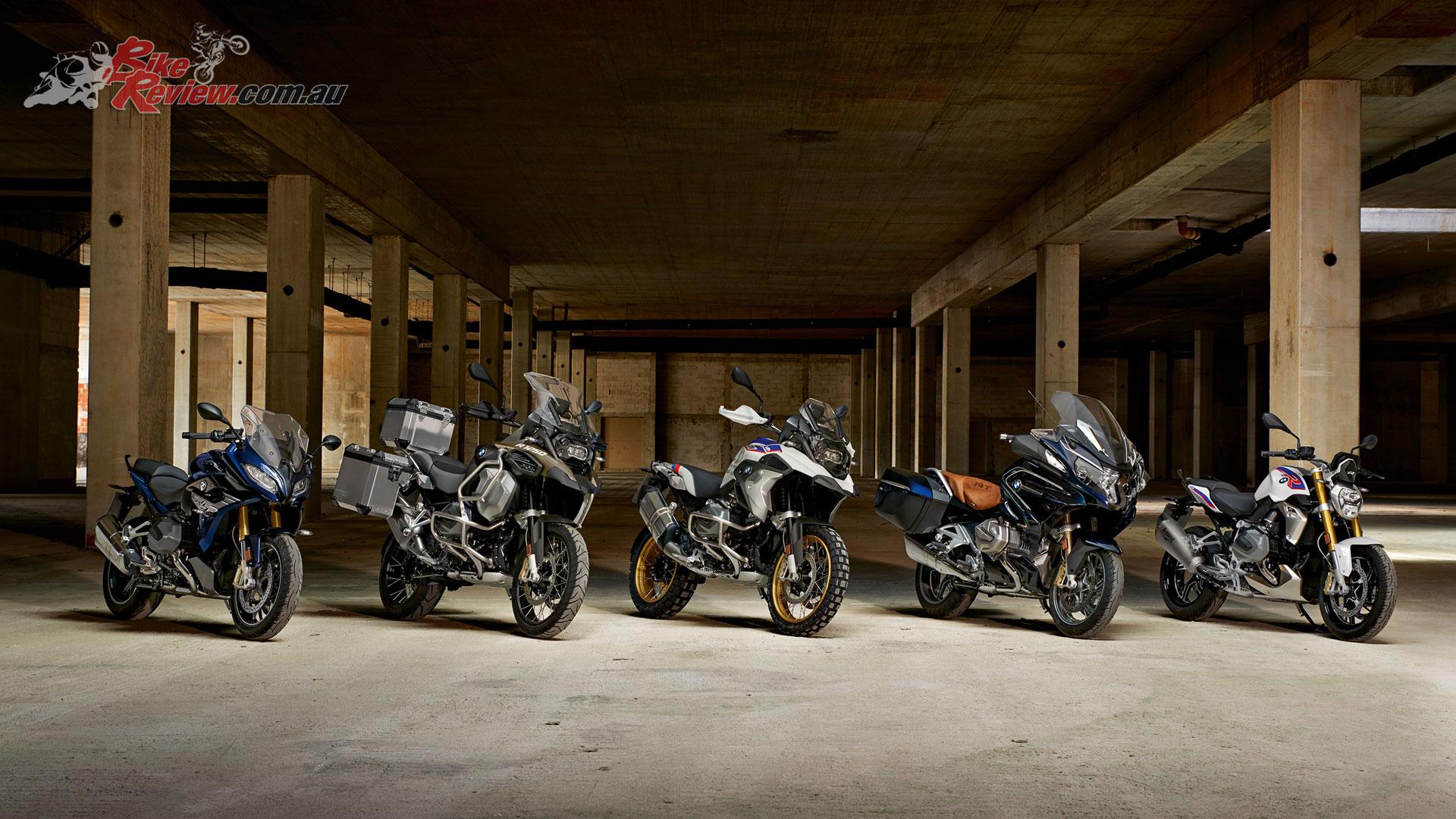 2019 BMW R 1250 range