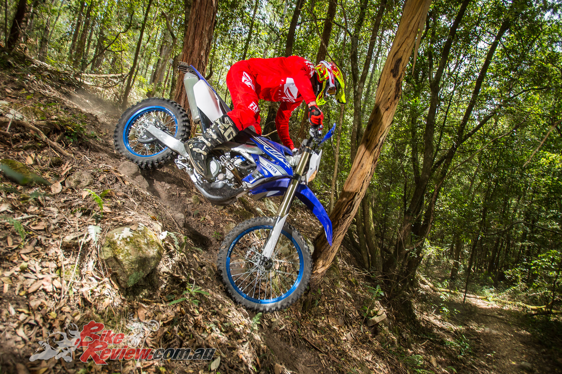 Ben found the new WR450F just abut faultless, particularly once mapped to his liking via the Power Tune App...