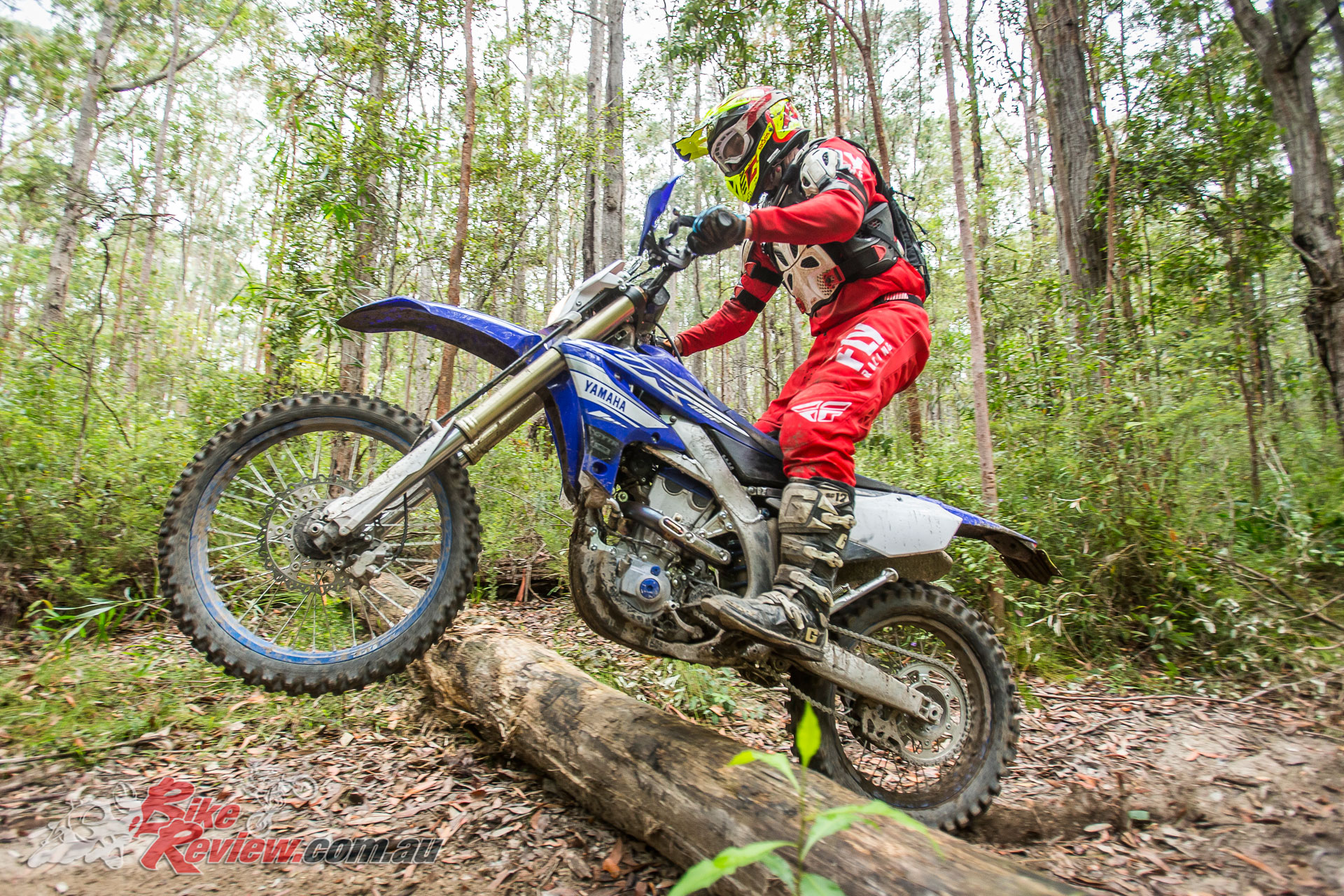 2019 Yamaha WR450F - Testing in the bush conditions on a 200km loop, despite the power and torque and revvy nature with light flywheel, the WR450F was not tiring to ride on a long tough day...