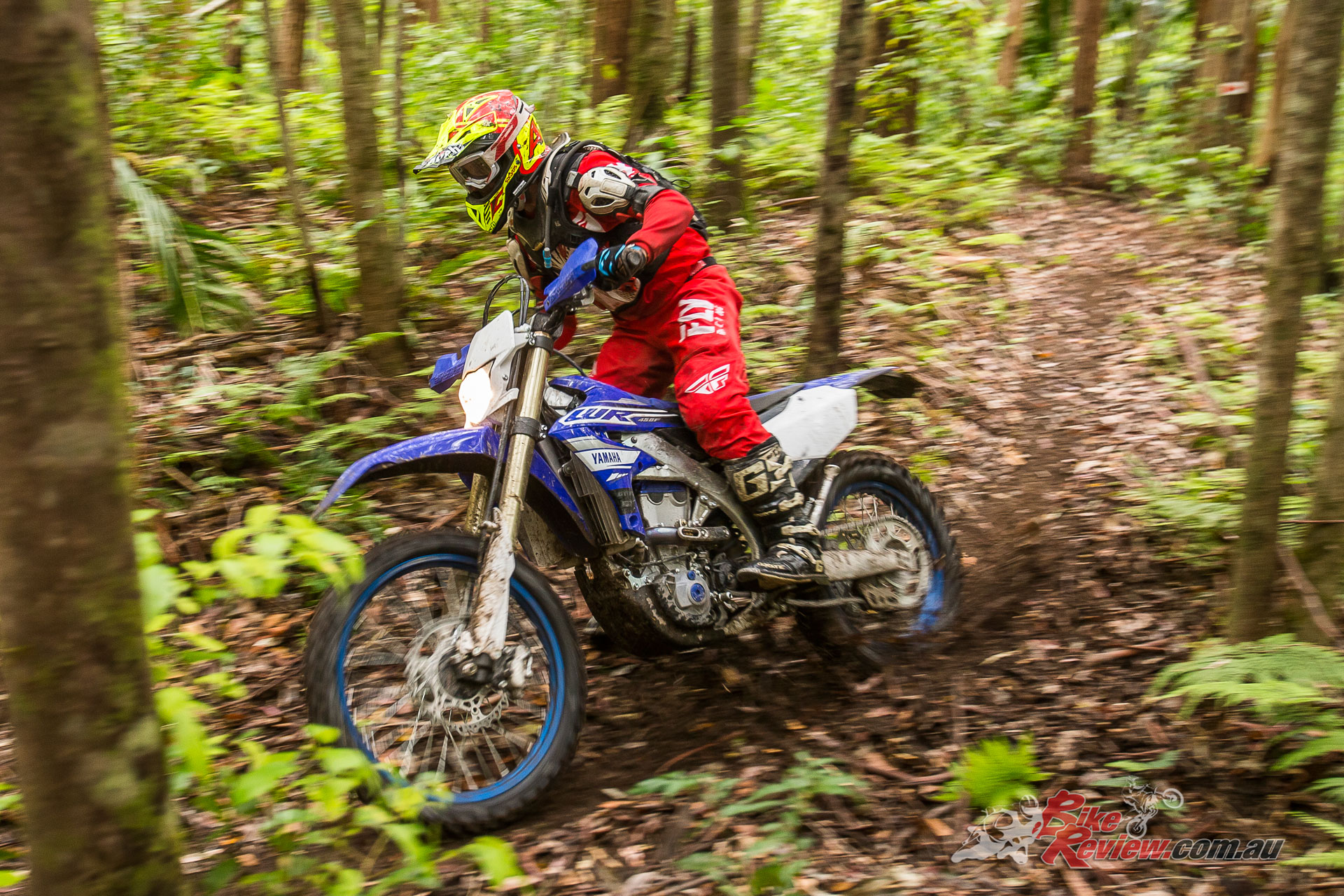 The 2019 WR450F was fantastic in the tighter single track sections