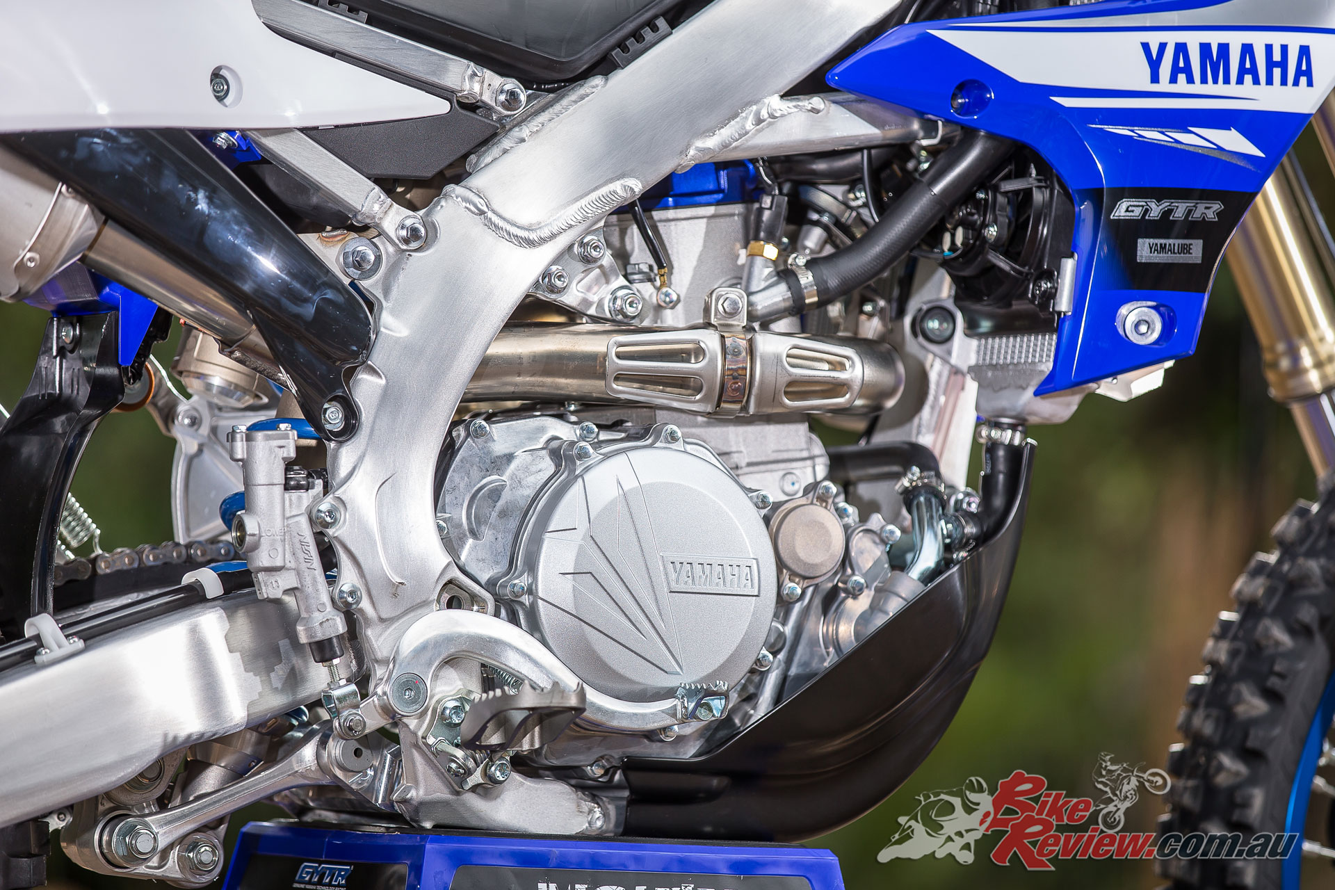 2019 Yamaha WR450F - YZF inspired powerplant