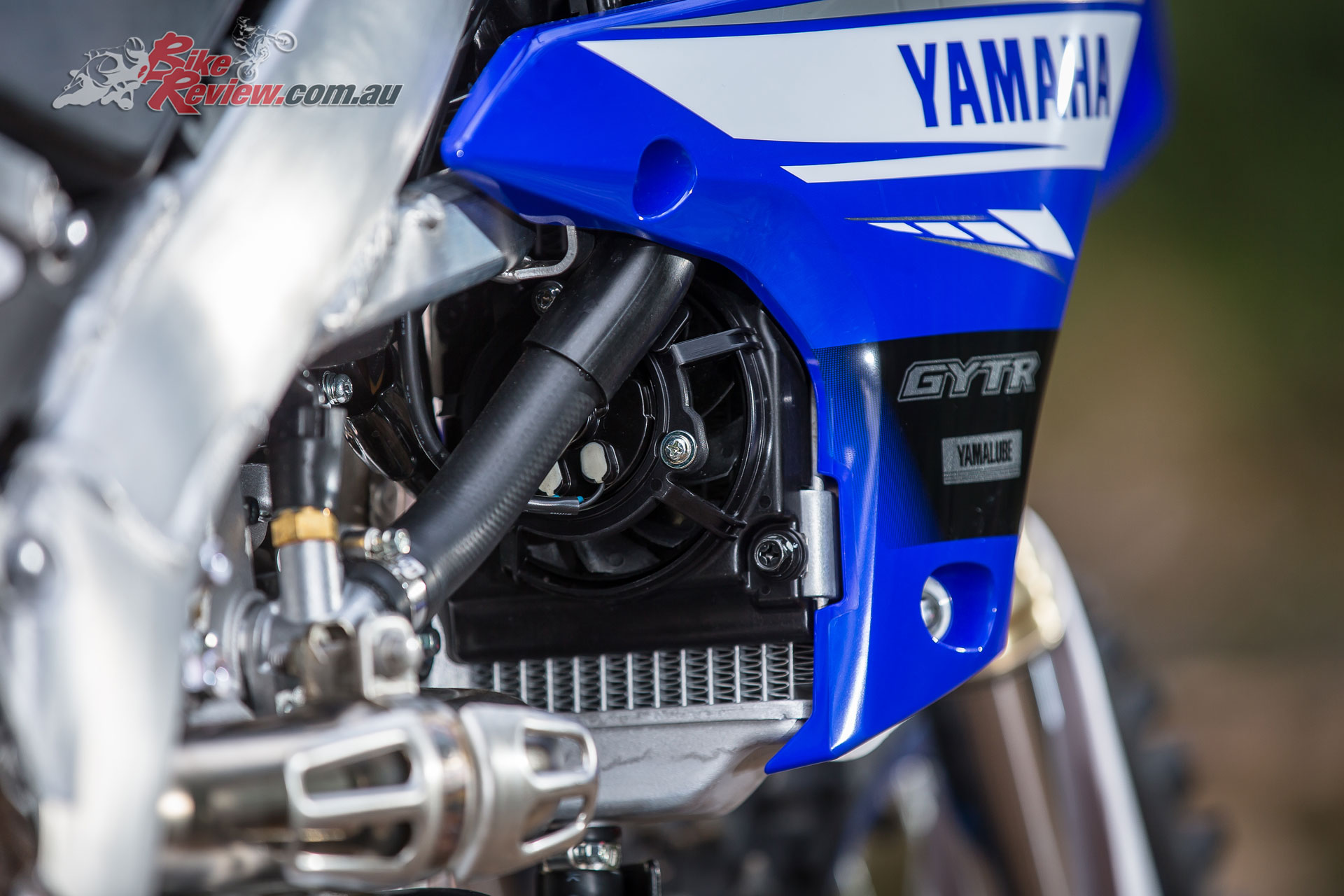 2019 Yamaha WR450F - Larger radiator and standard fan