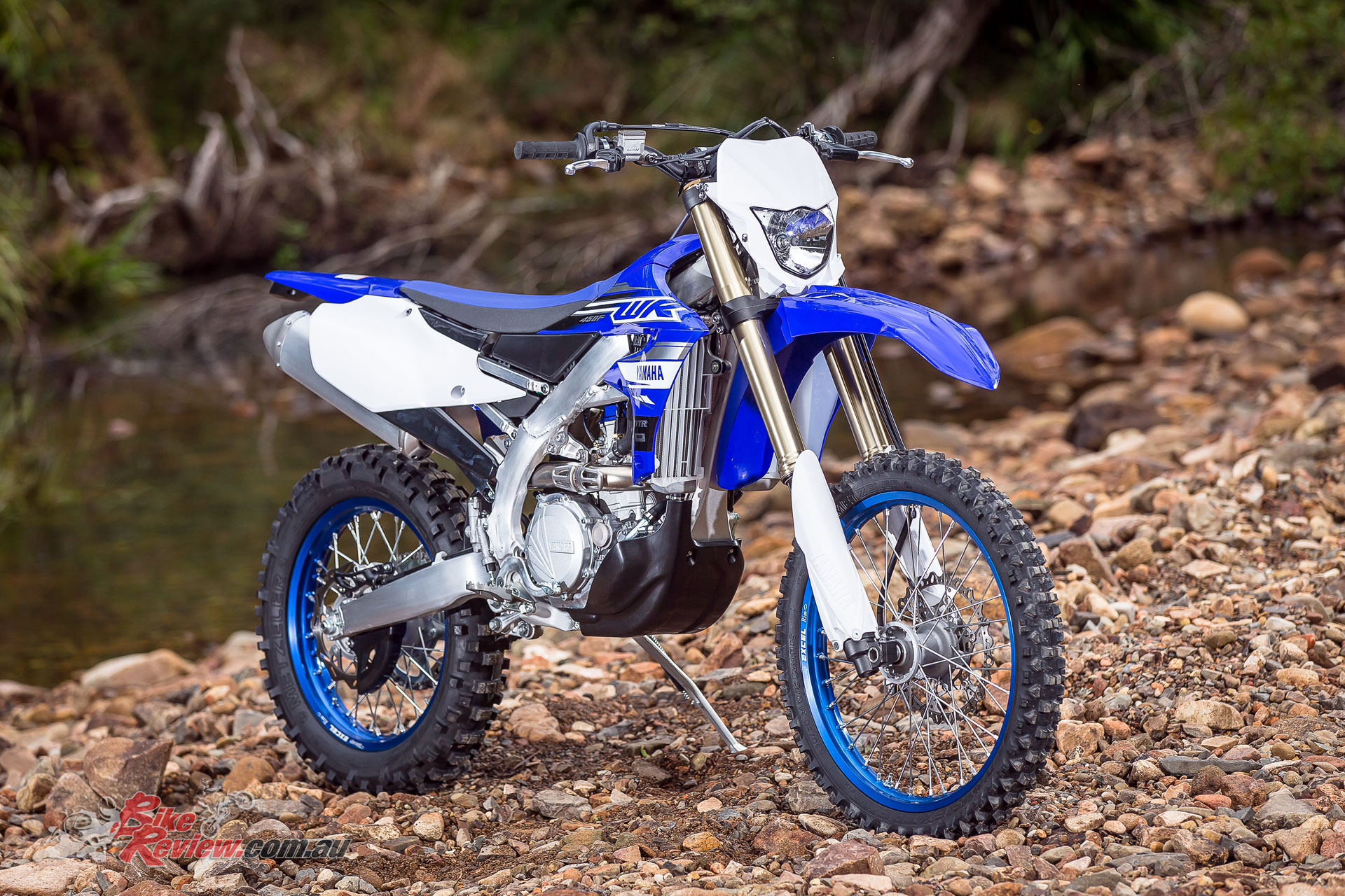 The 2019 WR450F features a power house engine with great versatility