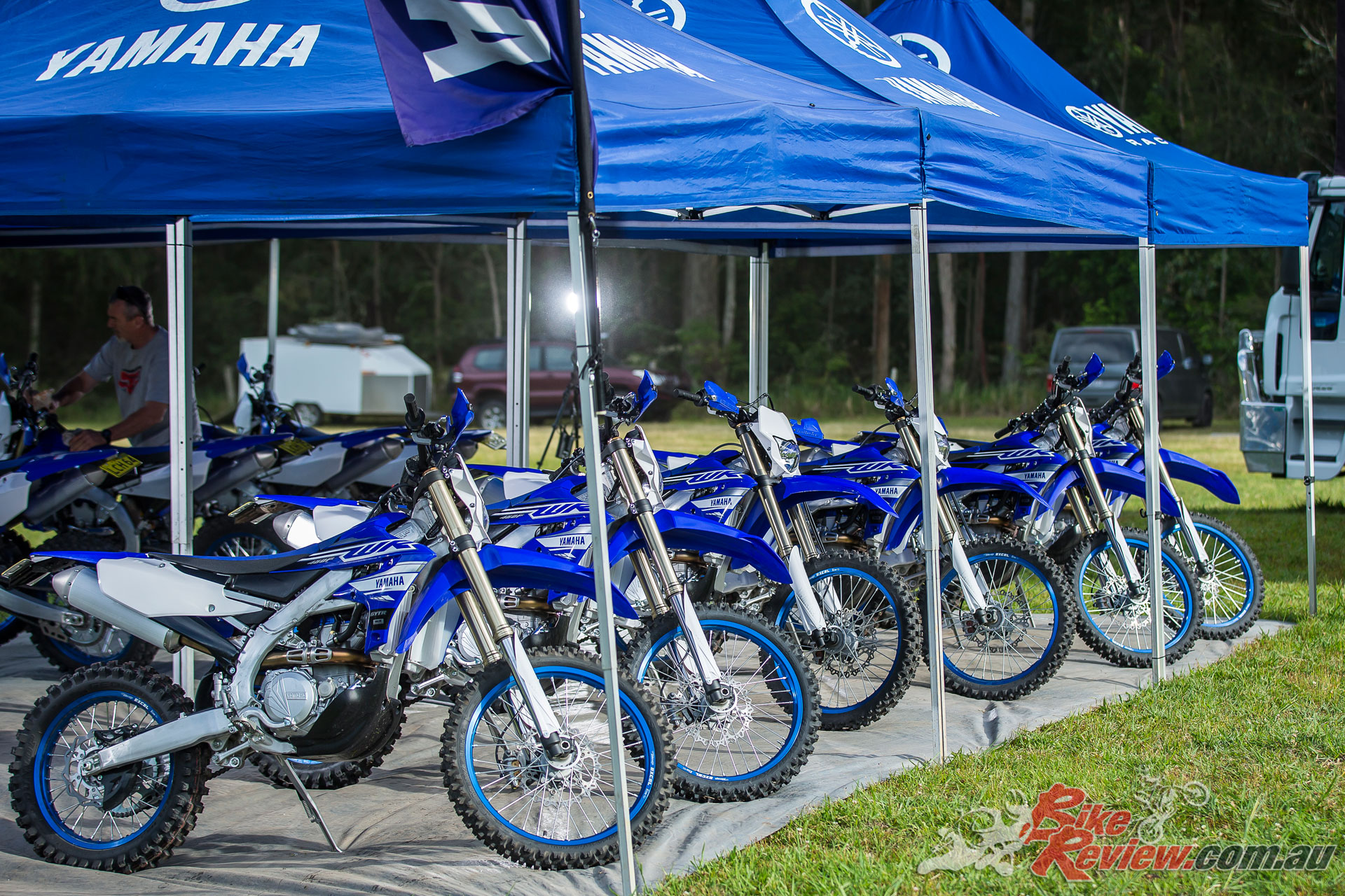 Stroud NSW was the perfect location for the two-day launch 2019 Yamaha WR450F World Launch