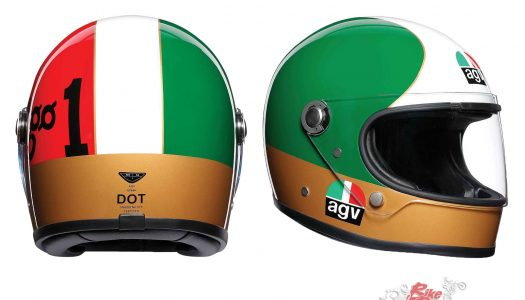 AGV launches X3000 & X70 helmets in Oz