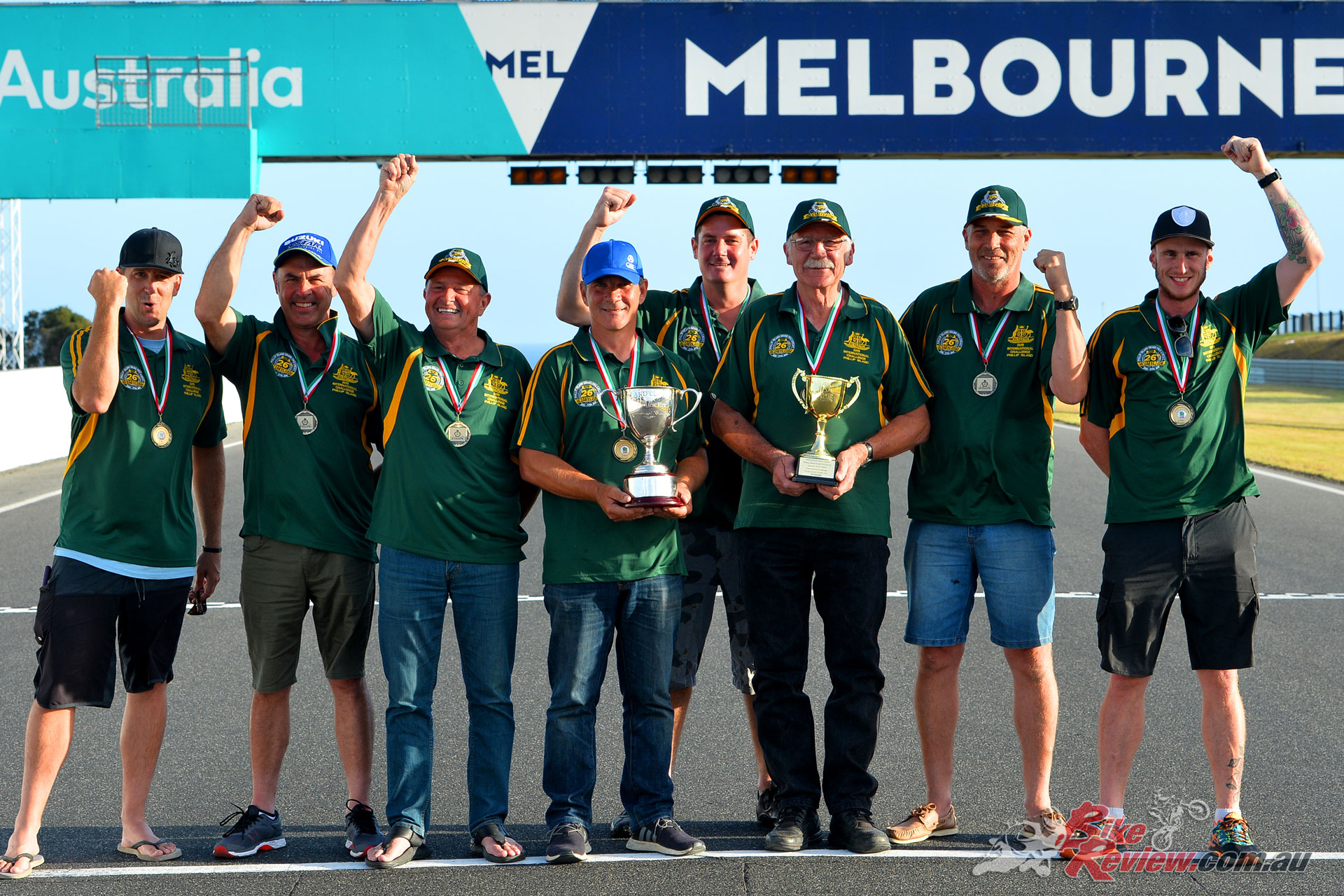 Team Australia took International Challenge Three Nations honours - Image by Russell Colvin