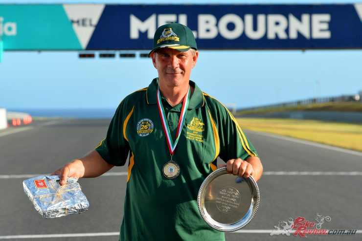 Steve Martin claimed the 2019 Ken Wootton Perpetual Trophy