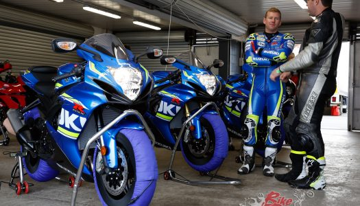 Suzuki Track Day adds Champion tuition