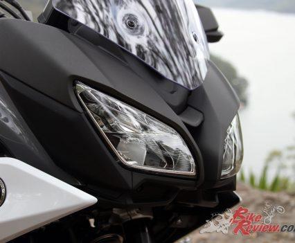 2019 Yamaha Tracer 900 - Front headlights