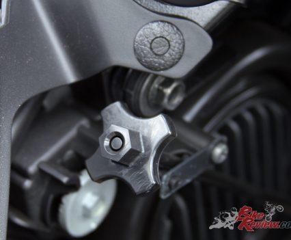 2019 Yamaha Tracer 900 - Headlight adjuster