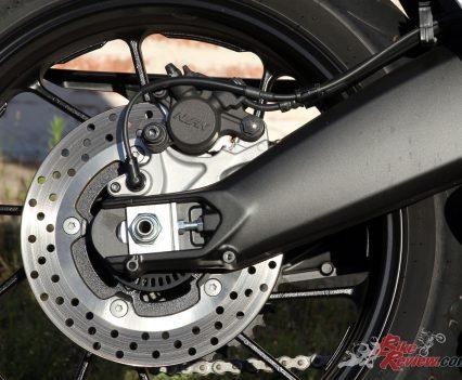 2019 Yamaha Tracer 900 - New aluminium swingarm