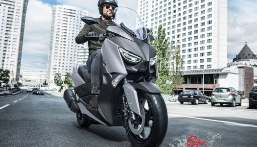 Yamaha's XMax 300 arrives in Matt Silver for 2019