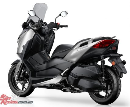 With traction control as standard the XMAX 300 offers a strong blend of performance and technology