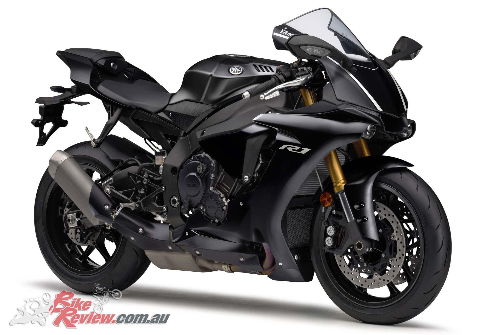 2019 Yamaha YZF-R1 in Tech Black