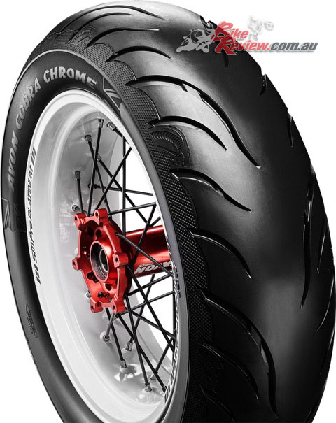 Avon Cobra Chrome tyre