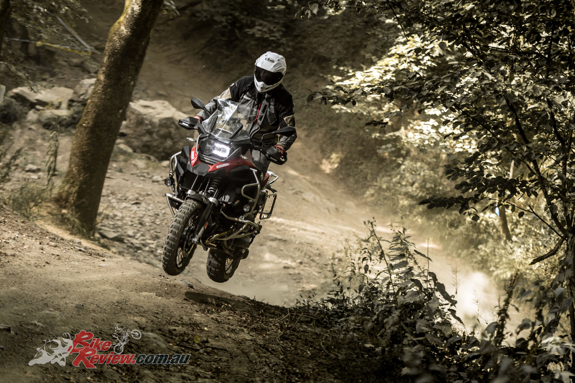 Bridgestone Battlax Adventurecross AX41 tyres in action
