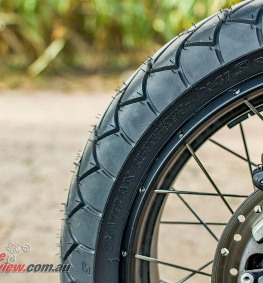 Bridgestone Battlax Adventurecross Scrambler AX41S