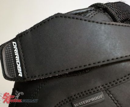 DRIRIDER Street 2.0 boot - Velcro closure