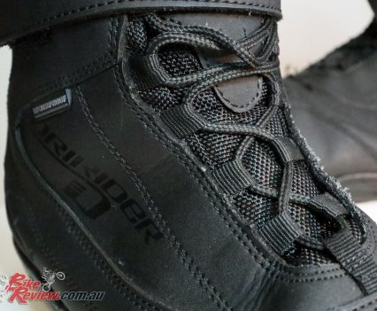 DRIRIDER Street 2.0 boot - Full laces