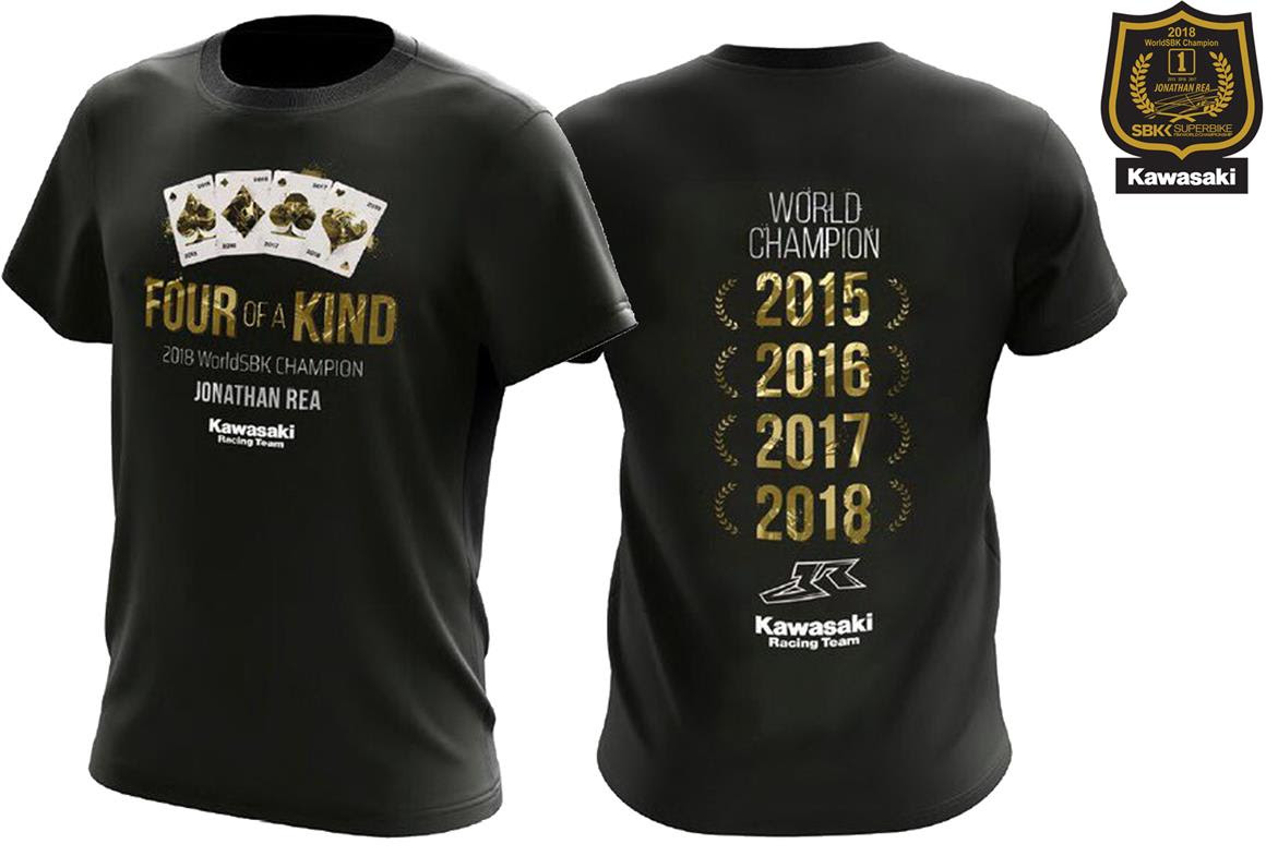Rea KRT Superbike Champion T-Shirt