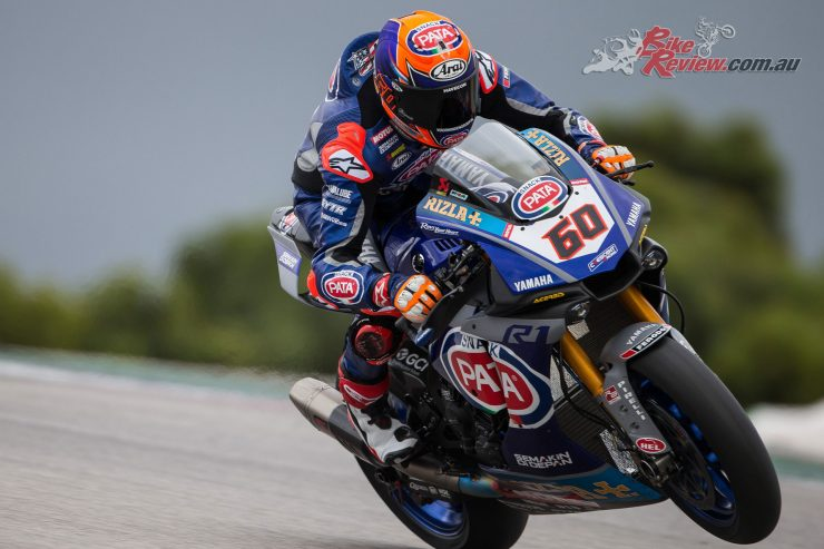 Michael van der Mark leads the Pata Yamaha WorldSBK effort in 2019