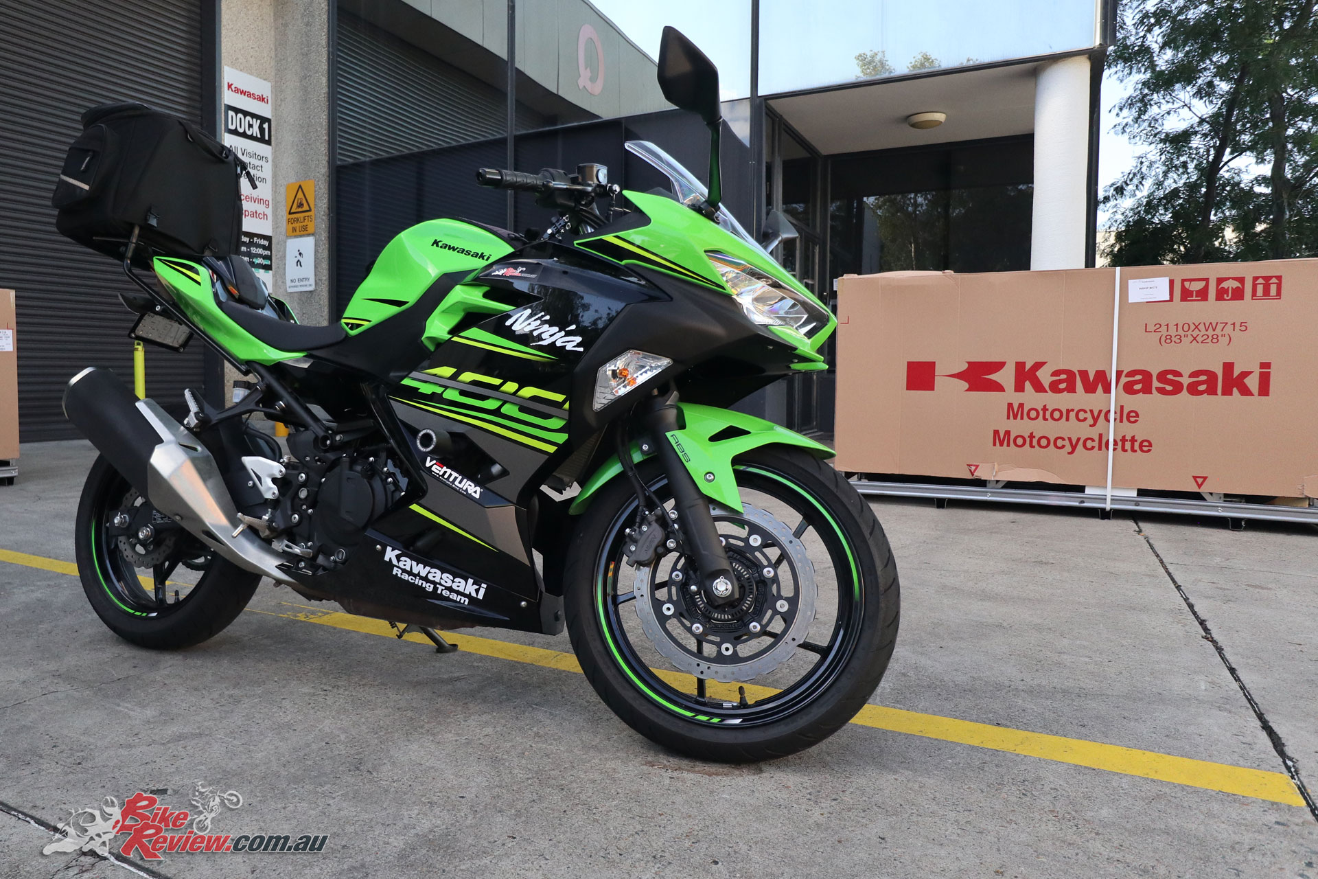 Our Project Kawasaki Ninja 400 has become a permanent fixture after Kris's wife Sam bought it as her first proper motorcycle!