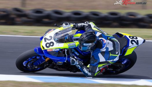 Aiden Wagner claims ASBK Superbike pole
