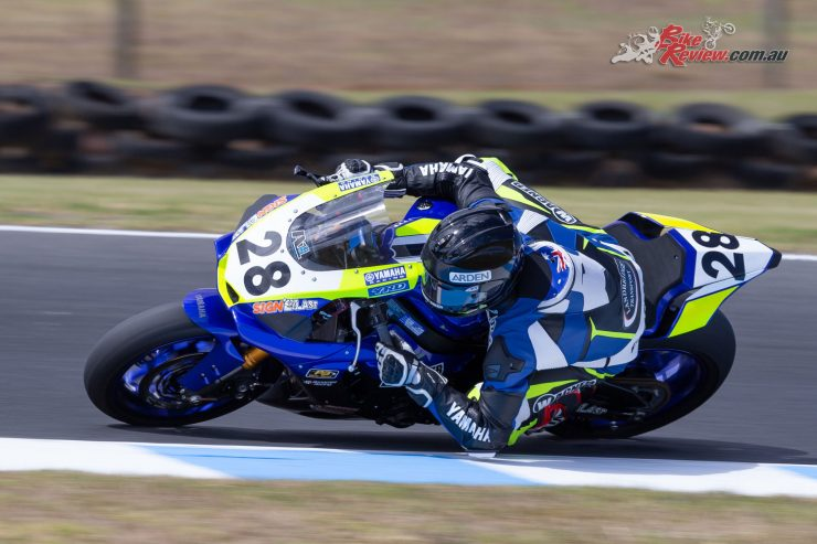 Aiden Wagner - 2019 ASBK Round 1 - Phillip Island - Friday - Image by TBG Sport