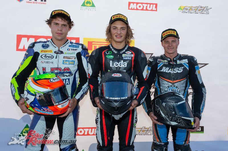 ASBK Supersport Race 1 Podium - Images by TBG Sport