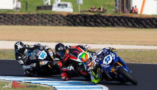 Toparis goes two for two in Saturday SSP at Phillip Island