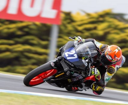 YMI Supersport 300 at Thursday ASBK Practice - Image by TBG Sport