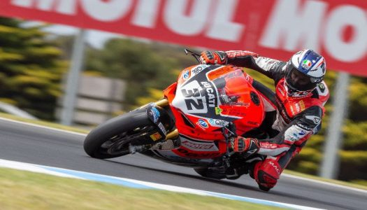 Troy Bayliss tops Thursday ASBK Practice